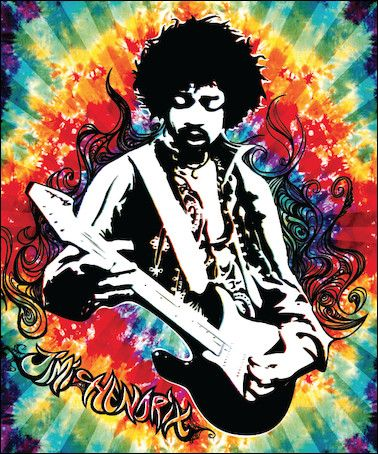25 best images about blankets on pinterest psychedelic - Jimi hendrix wallpaper psychedelic ...