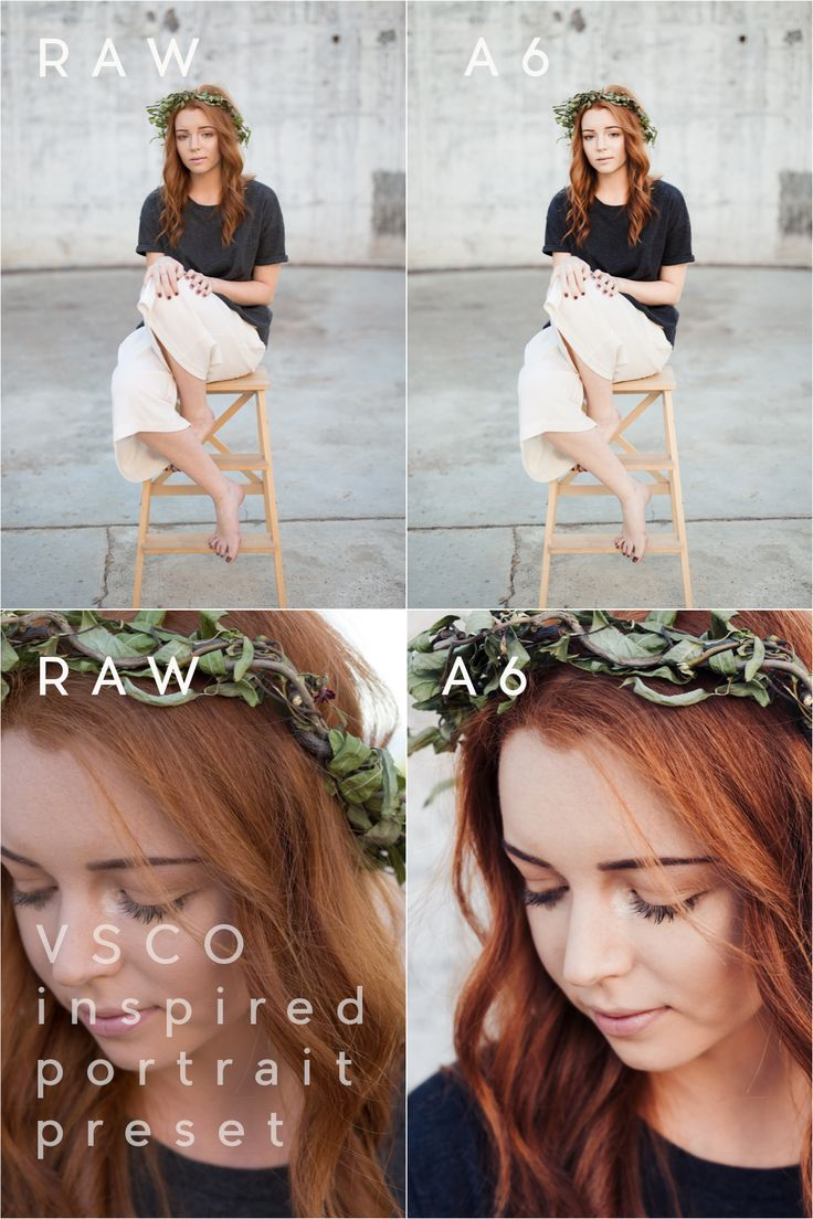 #Lightroom preset VSCO A6 inspired for beautiful skin tones