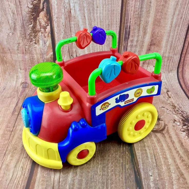 Fisher Price Train Music Lights Sounds Songs On Off Motion Present Gift 🎁 Toys