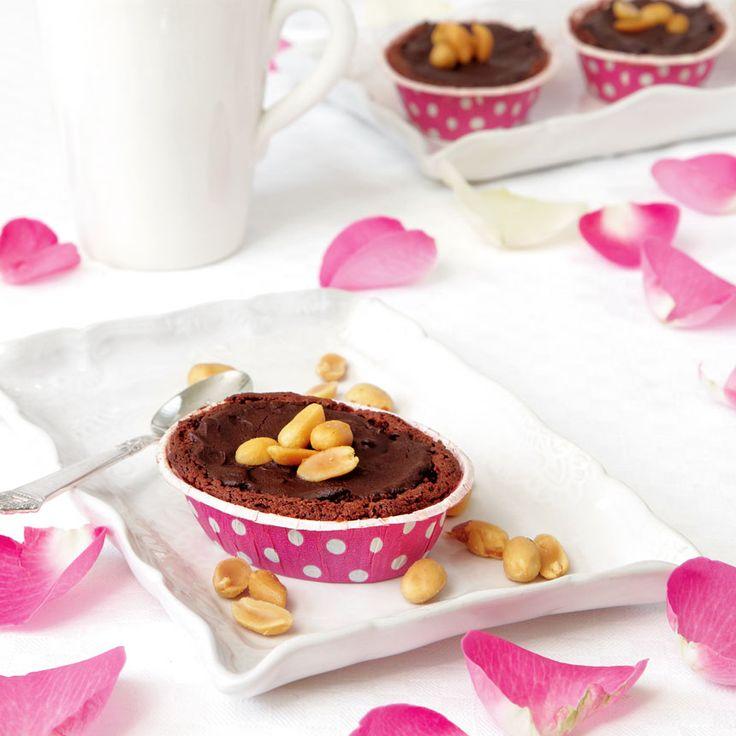 Syndigt goda mazariner med choklad och jordnötter.