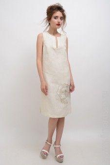 #LinoRusso #РусскийЛён #лён #платье #dress #red #linen #spring16 #summer16 #ss16 #embroidery #вышивка