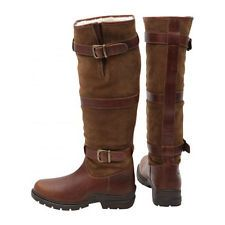 Horka Highlander Country Field Boot waterproof fur lined horse riding boots