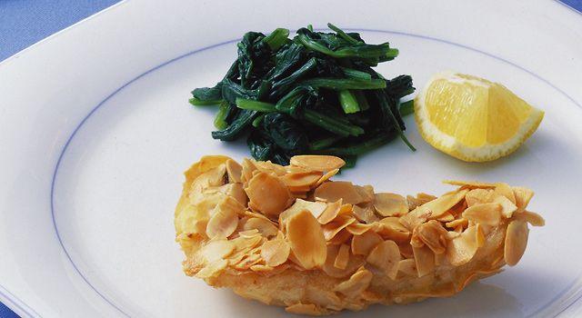 白身魚のアーモンドフライの作り方,管理栄養士監修のレシピは全てカロリー、栄養価つき!ダイエット向きの低カロリーレシピ、美容健康に効くレシピ、ヘルシーな献立をかんたん検索!