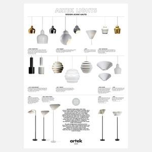 Alvar Aalto Lights Poster now featured on Fab. [Alvar Aalto, Artek]