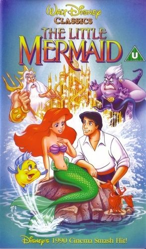 THE LITTLE MERMAID, 1989.  As a girl, I think this was my favourite (certainly Arial was my favourite princess!)  Some of the songs are still Disney favourites of mine.  No doubt this film influenced my future musical ventures and tastes.