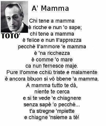 A' Mamma poesia