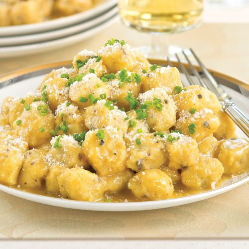 Truffle butter, Butter sauce and Gnocchi on Pinterest