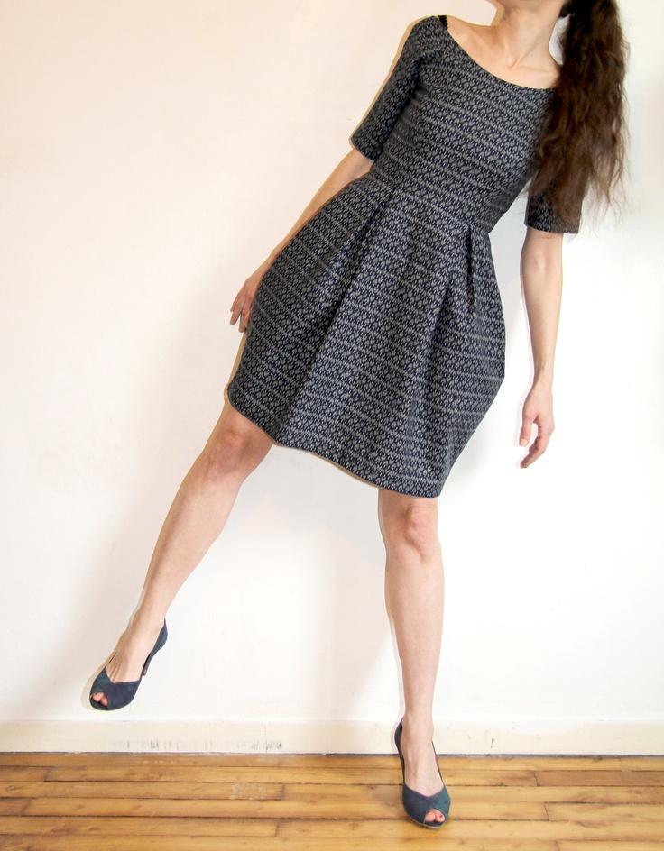 Elisalex dress japonisante // Jolies bobines