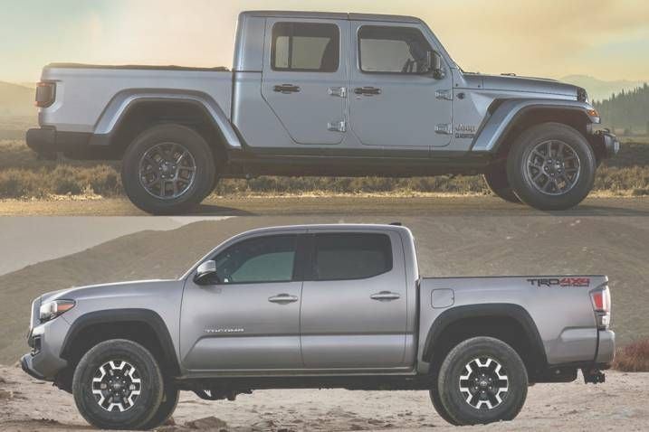 2020 Jeep Gladiator Vs Toyota Tacoma Release Date In 2020 Jeep