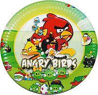 Тарелки праздничные Angry Birds S1-13