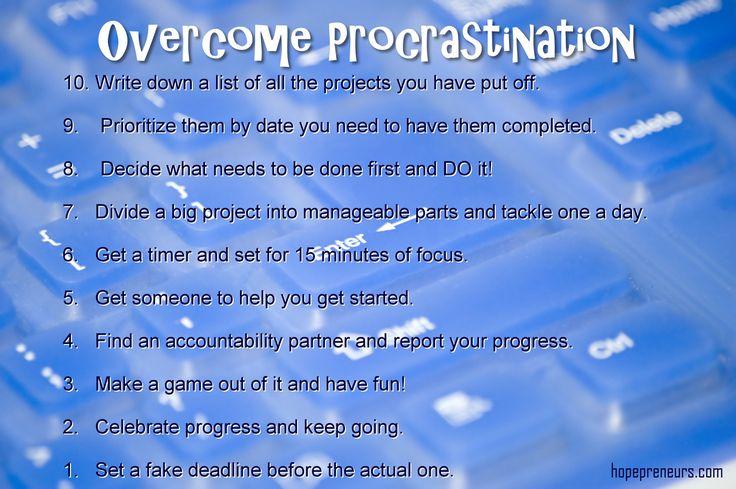 Overcome Procrastination > science-behind-procrastination-tips