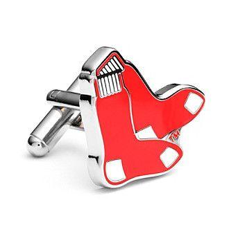 Cufflinks Inc. MLB® Red Sox Socks Cufflinks