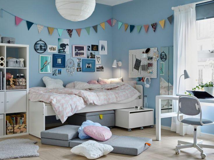 Kleiderschrank Decor Gestalten Ideen Ikea Inspiration Jugendzimmer Kinderzimmer Kinder Zimmer Jugendzimmer Wandfarbe Kinderzimmer