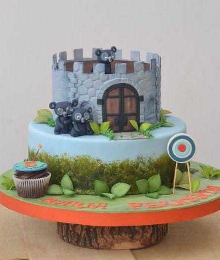 Brave Cake! By Monika Cupcakes