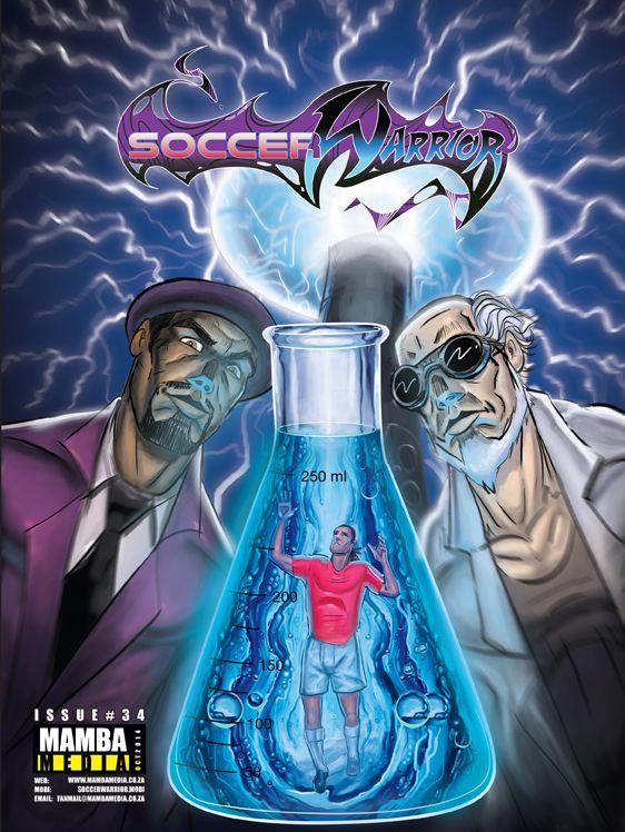 Soccer Warrior October issue cover