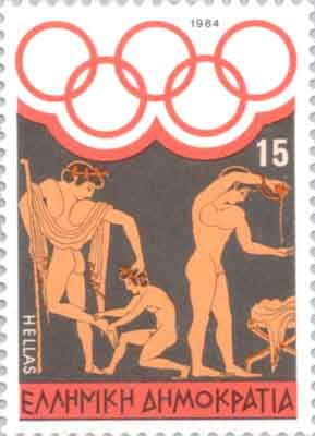 Ancient Greek Olympic Games - Aryballos (Αρύβαλλος) (a small bottle) filled with olive oil used by athletes to cover their body. Laconian Aryballoi were widely exported.