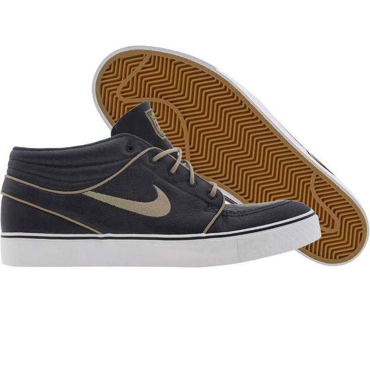 Nike Zoom Stefan Janoski Mid SB Premium (marine / khaki / gum light brown)