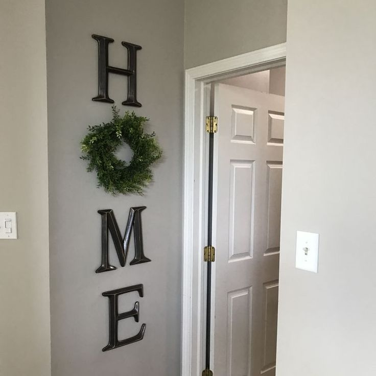 I found this adorable wreath idea on Pinterest made by Carmen Meagher! She bought wood letters H, M, E and a little round wreath! Too cute. Make sure to follow Crafty Morning on Facebook, Pinterest, and Instagram or subscribe to our Weekly Newsletter! :) This post may contain affiliate links, read our Disclosure Policy for …