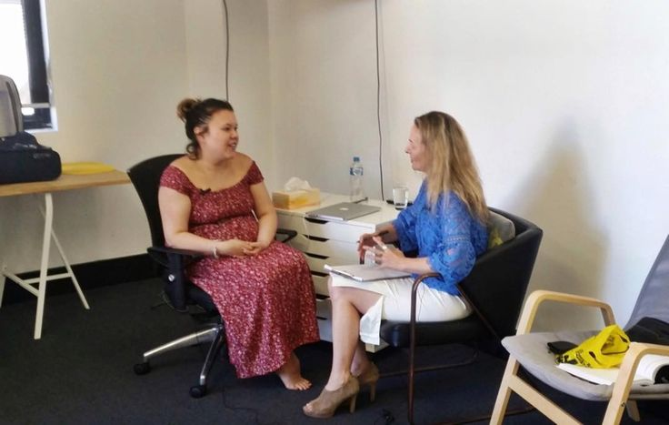 See the lovely Lori and Philipa #live #resource #therapy #demonstration. Day 5 #clinical #training.