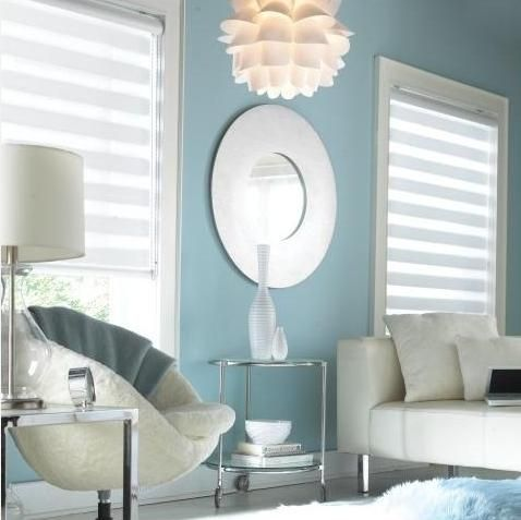 Illusions Shades from Budget Blinds go well with contemporary rooms!
