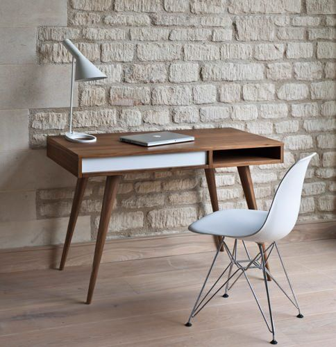 Silla Brusellas en escritorio estilo escandinavo