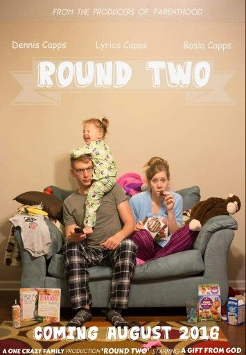 "Here's an idea for your pregnancy announcement! Super easy, all you need is a camera, tripod, and a mess! The family doesn't even need to ""cooperate."" Lol. Just thought I'd add this to the pinterest world. :)"