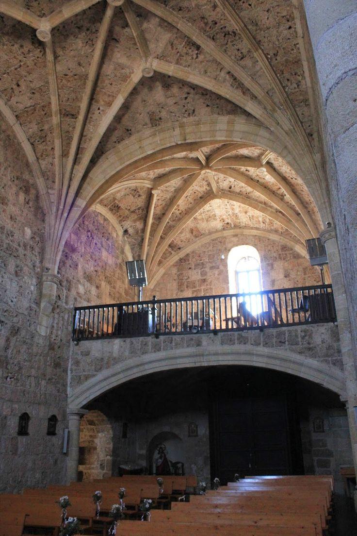 Letur, iglesia de santa María gótica del s.XV-XVI