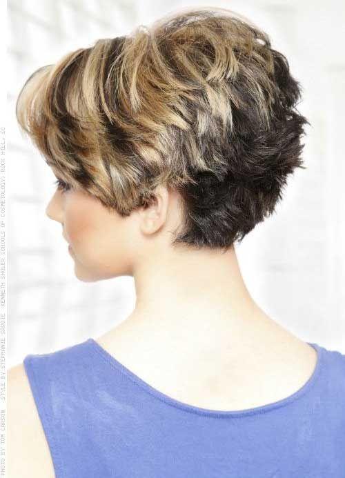 Short Hair Color Ideas 2014 – 2015 | http://www.short-haircut.com/short-hair-color-ideas-2014-2015-2.html