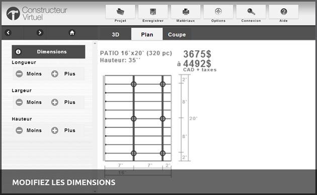 Nouvelle application: Logiciel d'estimation en construction   Constructeur Virtuel