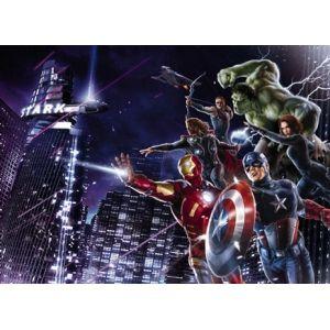 Fotomurales - Fotomurales de Comic - AVENGERS CITYNIGHT - HEROES COMIC