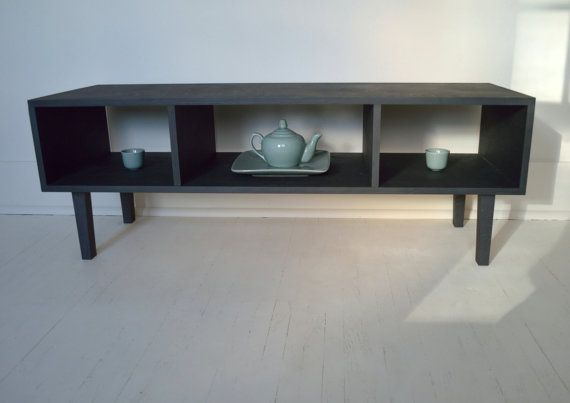 Mid Century Modern Media Cabinet  TV Stand  by ShadyMapleWoodworks