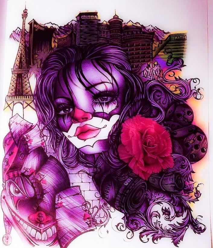 43 best images about L... Lowrider Arte Joker