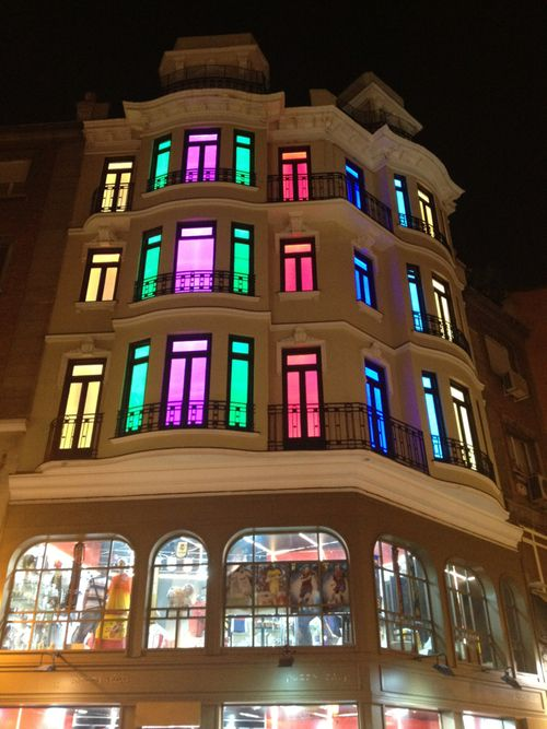Have you tried colour changing LED's?
