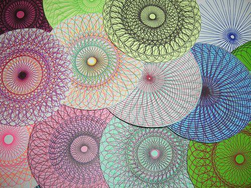 17 best ideas about spirograph art on pinterest