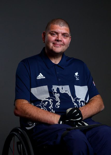 Richard Davies Photos Photos - Richard Davies, a member of the ParalympicsGB Shooting team, poses for a portrait during the Paralympics GB Media Day at Park Plaza Westminster Bridge Hotel on July 16, 2016 in London, England. - Paralympics GB Media Day