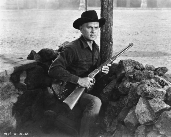 Yul Brynner | BFI | British Film Institute Scene from The Magnificient Seven.