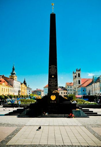 The SNP Monument, in Banska Bystrica, taken by Verity Graham.
