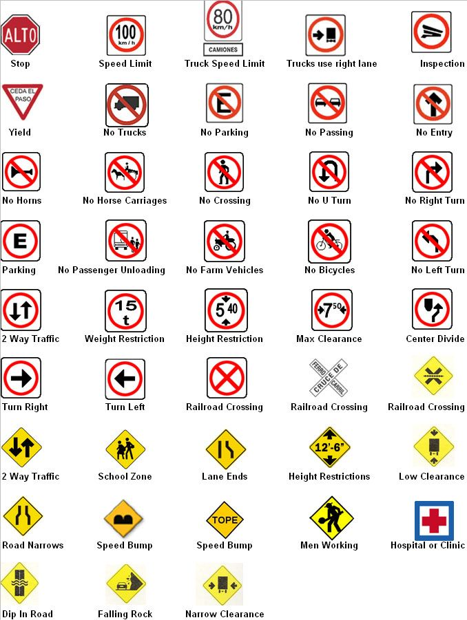 134 Best Signs Highways Images On Pinterest Warning Signs