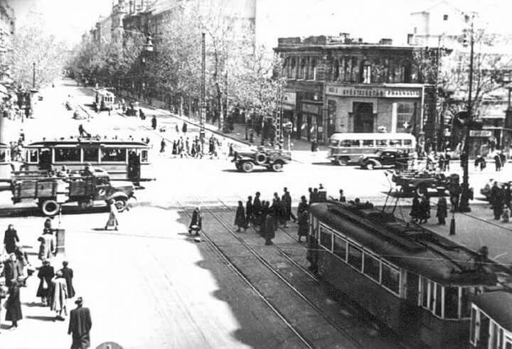 1948. Múzeum körút, Kossuth Lajos utca keresteződés