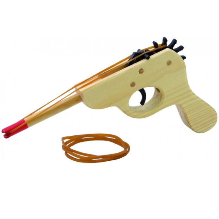 houten elastiek pistool vilac | ilovespeelgoed.nl