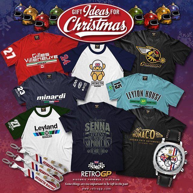 Just some of your old favs in our historic F1 store. Perfect Christmas presents that never disappoint - Retrogp.com (link in bio)  #RetroGP #RetroF1 #Retro #RetroGrandPrix #RetroFormula1 #GrandPrix #F1 #Formula1 #Classics #Classic #ClassicCars #Racing #Motorsport #PistonHeads #PistonHead #GearHead #PetrolHead #DriveTastefully #Petrolicious #BecauseRaceCar #Christmas #Gift #Gifts #Presents #Present #Ferrari #JamesHunt #Monaco #Williams