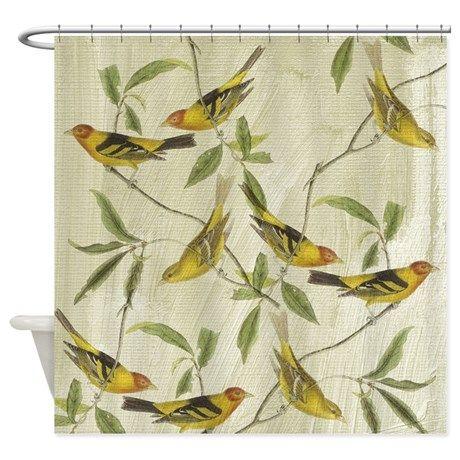 Best 25 Bird Shower Curtain Ideas On Pinterest Floral Shower Curtains Flamingo Park Curtains
