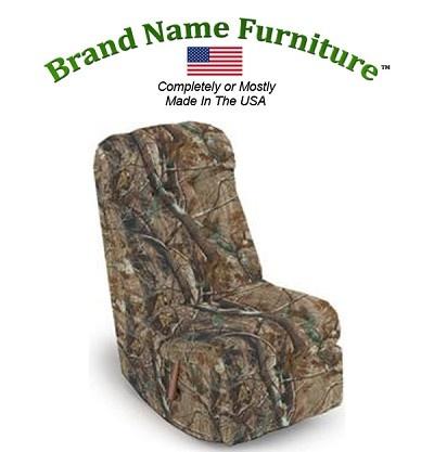 Camouflage Video Rocker Recliner in Realtree® AP Hardwoods