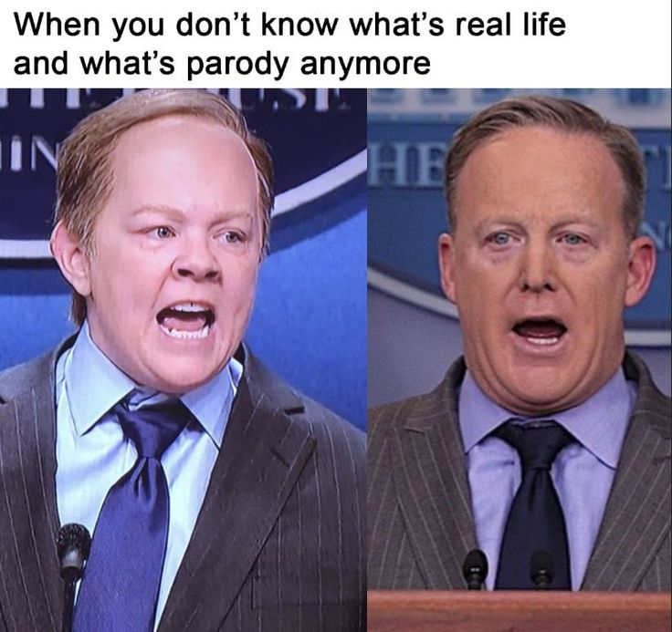 SNL & Sean Spicer, when you don't know what's real life and what's parody anymore.