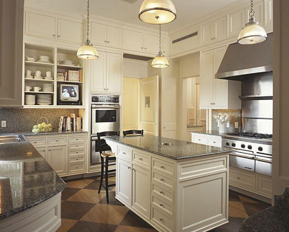 Elegant New York Apartment Kitchen