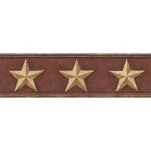Tin Star Wallpaper Border