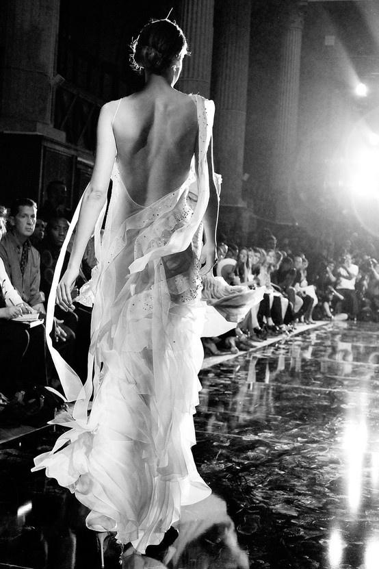 John Galliano #gown #runway