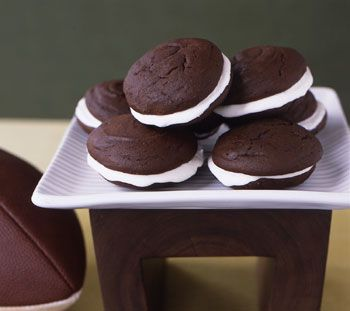 """Whoopie Pies for the Epicurious Game Day Giveaway, visit our blog for details on how you could win a 42"""" TV: www.epicurious.co..."""