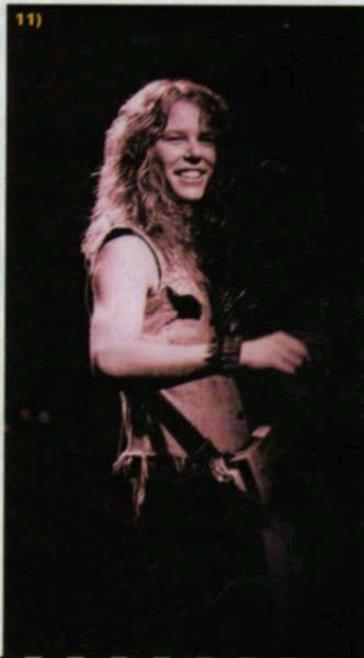 Not the best quality but there's a happy young James