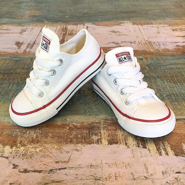 RESTOCK • We just received a shipment of white Converse low rise Chucks in sizes 6 to 10! 4's & 5's should be arriving next week..  •  www.tinystyle.com.au